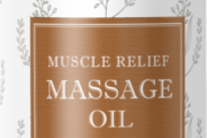 AROMATHERAPY MUSCLE RELIEF MASSAGE OIL