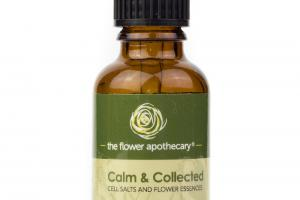 CALM & COLLECTED CELL SALTS AND FLOWER ESSENCES