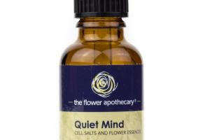 QUIET MIND CELL SALTS AND FLOWER ESSENCES