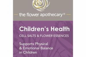 CELL SALTS & FLOWER ESSENCES SUPPORTS PHYSICAL & EMOTIONAL BALANCE IN CHILDREN