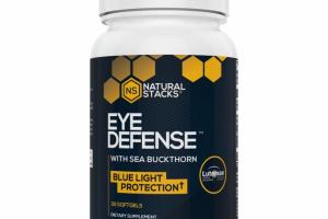 EYE DEFENSE WITH SEA BUCKTHORN BLUE LIGHT PROTECTION DIETARY SUPPLEMENT SOFTGELS