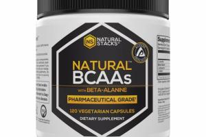 NATURAL BCAAS WITH BETA-ALANINE DIETARY SUPPLEMENT VEGETARIAN CAPSULES