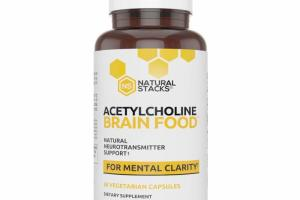 NATURAL NEUROTRANSMITTER SUPPORT FOR MENTAL CLARITY DIETARY SUPPLEMENT VEGETARIAN CAPSULES