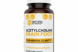 ACETYLCHOLINE DIETARY SUPPLEMENT VEGETARIAN CAPSULES
