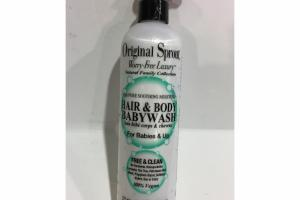 HAIR & BODY BABY WASH