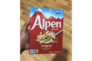 ORIGINAL TRADITIONAL BLEND OF GRAINS, FRUITS AND NUTS