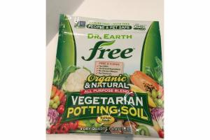 ORGANIC & NATURAL ALL PURPOSE BLEND VEGETARIAN POTTING SOIL
