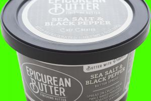 SEA SALT & BLACK PEPPER BUTTER SPREAD