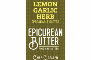 LEMON GARLIC HERB SPREADABLE BUTTER