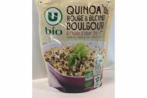 QUINOA ROUGE & BLOND BOULGOUR
