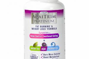 FAT BURNING & WEIGHT LOSS FORMULA DIETARY SUPPLEMENT CAPSULES