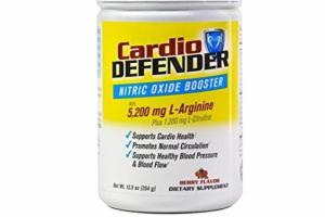 NITRIC OXIDE BOOSTER WITH 5,200 MG L-ARGININE PLUS 1,200 MG L-CITRULLINE DIETARY SUPPLEMENT, BERRY