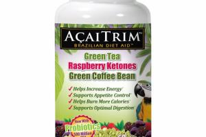GREEN TEA, RASPBERRY KETONES, GREEN COFFEE BEAN DIETARY SUPPLEMENT TABLETS
