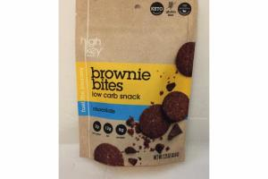 CHOCOLATE BROWNIE BITES LOW CARD SNACK
