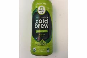 ORGANIC COLD BREW UNSWEETENED MATCHA + GREEN TEA