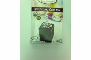 ORGANIC DEVIL'S FOOD CAKE MIX