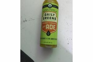 ORANGE - TURMERIC GREEN ADE
