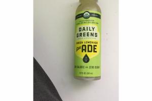 GREEN LEMONADE GREEN ADE COLD - PRESSED VEGETABLE AND FRUIT JUICE DRINK BLEND