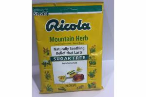 MOUNTAIN HERB COUGH SUPPRESSANT - THROAT DROPS
