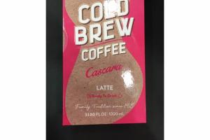 CASCARA LATTE COLD BREW COFFEE
