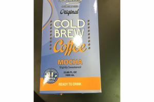 SLIGHTLY SWEETENED MOCHA ORIGINAL COLD COFFEE BREW