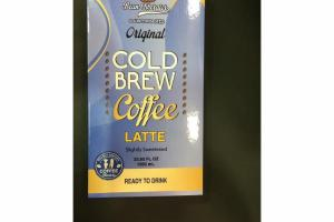 ORIGINAL COLD BREW COFFEE LATTE