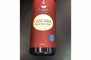 CASCARA COFFEE FRUIT SYRUP