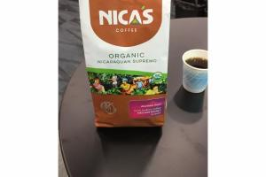 ORGANIC 100% ARABICA MEDIUM ROAST GROUND COFFEE