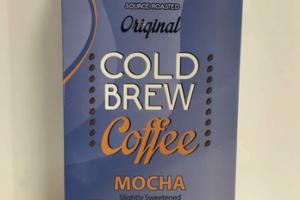 SLIGHTLY SWEETENED MOCHA ORIGINAL COLD BREW COFFEE