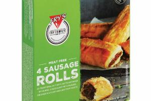 MEAT FREE SAUSAGE ROLLS