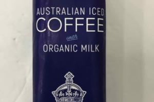 AUSTRALIAN ICED COFFEE WITH ORGANIC MILK