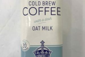OAT MILK COLD BREW COFFEE