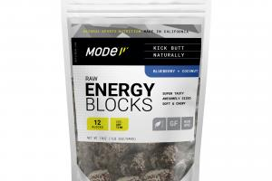 BLUEBERRY + COCONUT RAW ENERGY BLOCKS