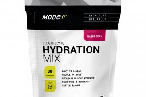 ELECTROLYTE HYDRATION MIX POWDERED DIETARY SUPPLEMENT, RASPBERRY