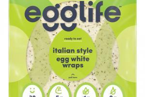 ITALIAN STYLE EGG WHITE WRAPS