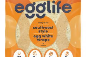 SOUTHWEST STYLE EGG WHITE WRAPS