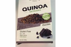 QUINOA EXTRUDED WITH COVERAGE OF CHOCOLATE