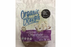 100% CLEAN CHOCOLATE ORGANIC DOUGH