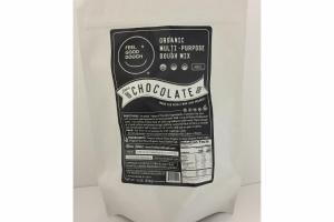 CHOCOLATE ORGANIC MULTI-PURPOSE DOUGH MIX