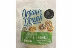 100% CLEAN ITALIAN HERB ORGANIC DOUGH