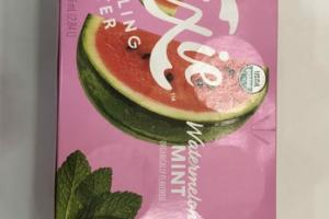 WATERMELON MINT FLAVORED SPARKLING WATER