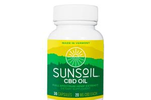 CBD OIL FULL SPECTRUM HEMP EXTRACT DIETARY SUPPLEMENT SOFTGELS