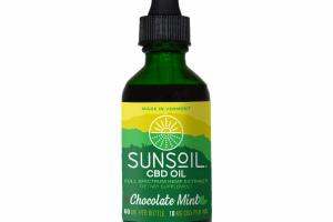 CHOCOLATE MINT CBD OIL DIETARY SUPPLEMENT
