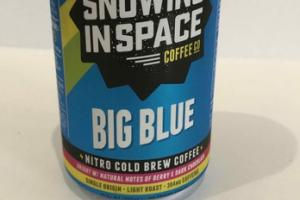 SINGLE ORIGIN LIGHT ROAST BIG BLUE NITRO COLD BREW COFFEE