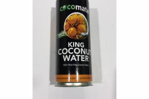 100% NATURAL PURE KING COCONUT WATER
