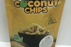 100% NATURAL TOASTED COCONUT CHIPS