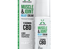 MUSCLE & JOINT RELIEF CREAM 150 MG CBD INFUSED TOPICAL PROPRIETARY BLEND