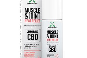 MUSCLE & JOINT HEAT RELIEF CBD 250 MG INFUSED THERMOTHERAPY ROLL-ON