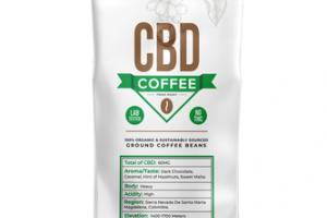 CBD GROUND COFFEE BEANS