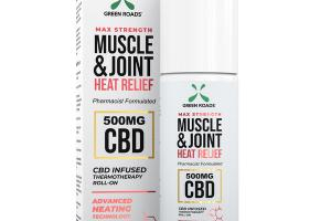 MUSCLE & JOINT HEAT RELIEF CBD 500 MG INFUSED THERMOTHERAPY ROLL-ON